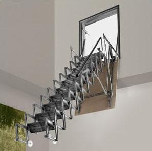 Vertical Access Commercial Ladder