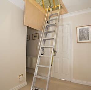 Aluminium Deluxe - Aluminium Loft Ladder
