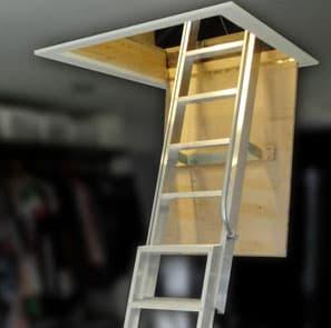 Premium Deluxe - Aluminium Loft Ladder